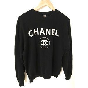Vintage 1980s Chanel Sweatshirt